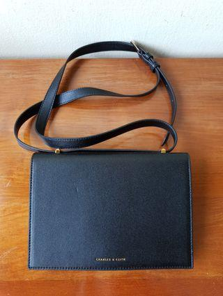 Charles & Keith black bag