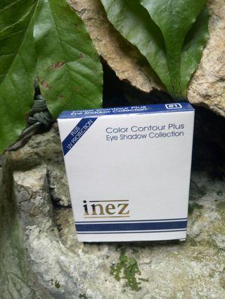 Inez color contour plus eye shadow collection 01