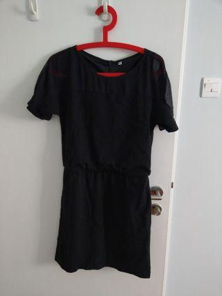 Black Dress short sleeves
