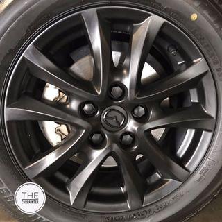 Mazda 3 Rims Plastidip Spray Service Plasti Dip