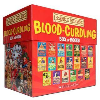 Horrible Histories, Blood-curdling Box of Books