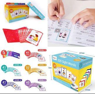 Teacher's Recommended Sight Word Cards