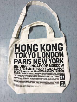 Uniqlo bag 斜揹袋/ 手挽袋