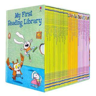 🚚 Usborne My First Reading Library Collection