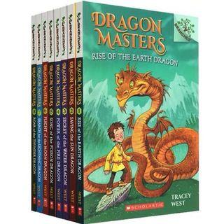 🚚 Branches Storybooks Scholastic Dragon Masters 8 Books Box Set