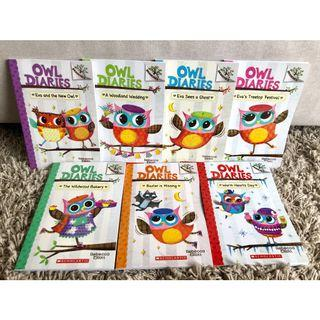 🚚 Branches Storybooks Owl Dairies 7 Books Set Scholastic