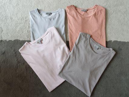 Retail $140 COS (Collection Of Style) Plain Tees M 9.5/10