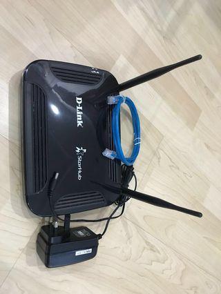 D-Link Wifi Router - model DVG-N5402SP