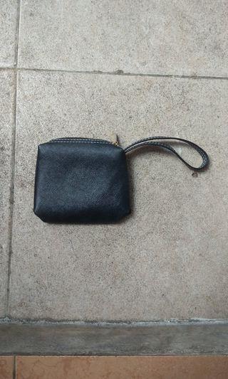 Black mini clutch