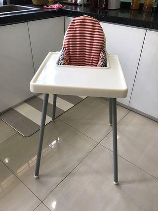 IKEA highchair and cushion