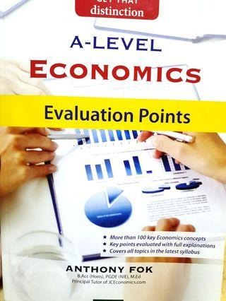 🚚 A Level Economics Evaluation Points