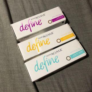 1 Day Acuvue Define 散裝