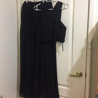 Fame And Partners Two Piece Dress (12)