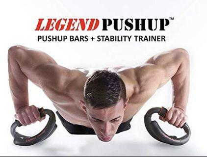 Push Up Bars + Stability Trainer 掌上壓支撐架