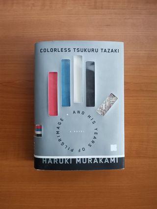 [MOVING SALE] Colorless Tsukuru Tazaki and His Years of Pilgrimage by Haruki Murakami