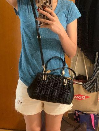 Coach crossbody bag 黑色小包