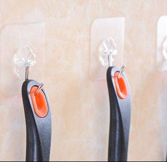 Strong stainless-steel adhesive hook