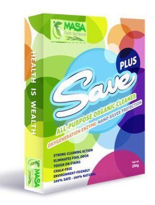SAVE Organic All Purpose Powder Detergent (250g)