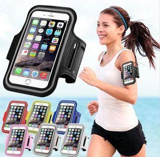 Jogging Armband Adjustable with Reflective Band