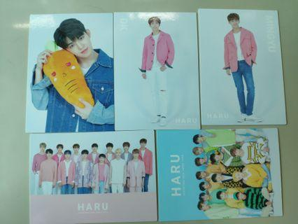WTS Seventeen Japan Haru Tour trading cards
