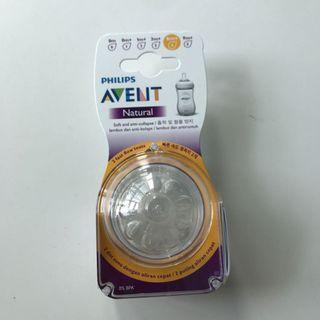 Avent Natural Teats 6m+
