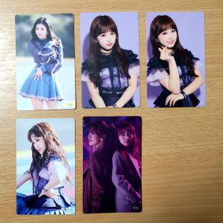[wts] iz*one japan fanmeet photocards
