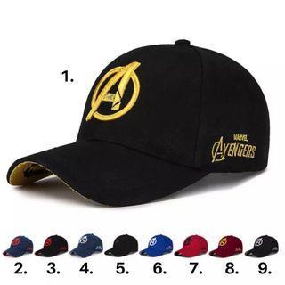 Unisex 'Avengers' logo Baseball adjustable Cap