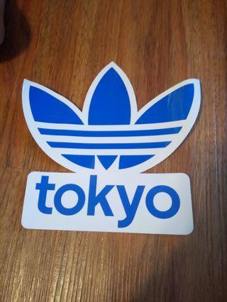 -套3款Adidas stickers($65)或散買不同價