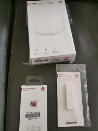 🚚 Huawei super charge charger sd car and sd car reader