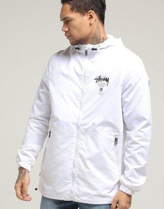 Stussy Cities Spray Jacket Off White