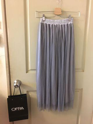 🚚 灰色紗裙