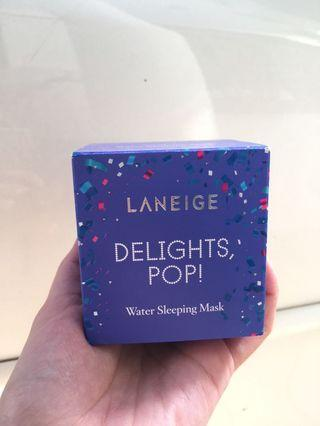 LANEIGE water sleeping mask delights pop holiday edition limited edition