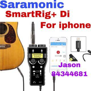 Offer now pm ask price for Saramonic SmartRig+ Di 2-Channel XLR Microphone Audio Mixer