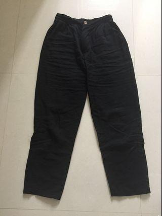 THIS IS APRIL ANKLE BLACK PANTS