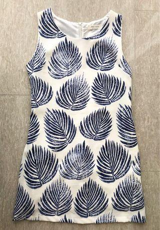[Free normal postage] Palm leaves dress