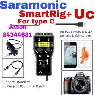 Offer now pm ask price for Saramonic SmartRig+ Uc 2-Channel XLR Microphone Audio Mixer