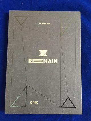 KNK 2nd Mini Album REMAIN
