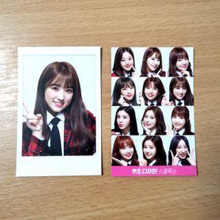 [wts] iz*one skoolooks photocards