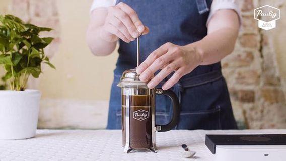🚚 北歐 芬蘭品牌 Paulig 法式 傳統 咖啡 濾壓壺 350ml (全新)