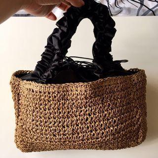 Straw bag 草編袋