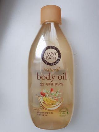 Happy Bath Body Oil