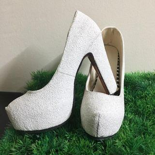 CRYSTAL BLING WEDDING SHOES