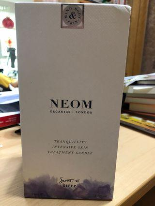 neom organics london tranquility skin treatment candle身體蠟保養 滋潤又好眠網路最便宜換成台幣1440不含國際運費
