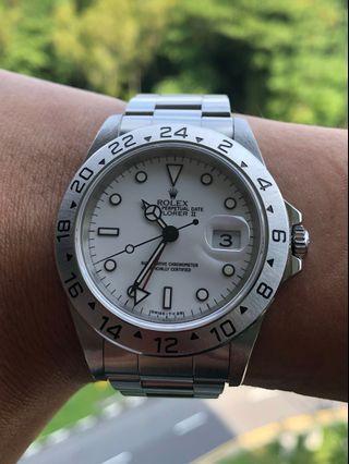 Rolex Explorer II for Sale