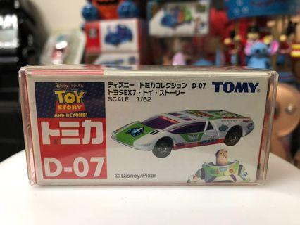 Tomy tomica Disney car 車 巴斯光年 D 07