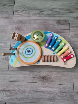 Hape Mighty Mini Wooden Band Set