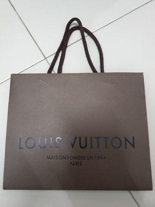 Louis Vuitton Paper Bag (Small)