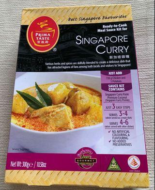 Singapore Curry Sauce Kit
