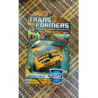 transformers reveal the shield bumble bee mib