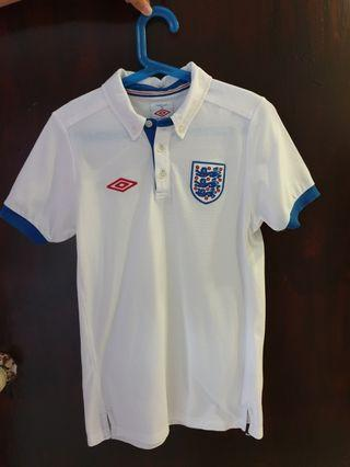 Official England World Cup Media Polo Tee